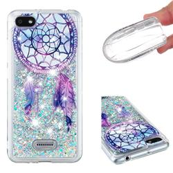 Fantasy Wind Chimes Dynamic Liquid Glitter Quicksand Soft TPU Case for Mi Xiaomi Redmi 6