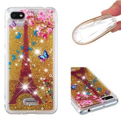 Golden Tower Dynamic Liquid Glitter Quicksand Soft TPU Case for Mi Xiaomi Redmi 6
