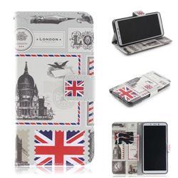 London Envelope PU Leather Wallet Case for Mi Xiaomi Redmi 6