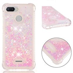 Dynamic Liquid Glitter Sand Quicksand TPU Case for Mi Xiaomi Redmi 6A - Silver Powder Star