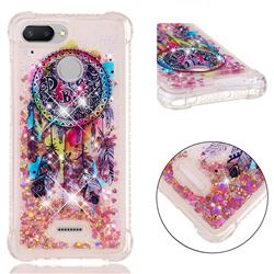 Seal Wind Chimes Dynamic Liquid Glitter Sand Quicksand Star TPU Case for Mi Xiaomi Redmi 6A