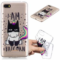 Batman Clear Varnish Soft Phone Back Cover for Mi Xiaomi Redmi 6A