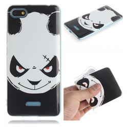 Angry Bear IMD Soft TPU Cell Phone Back Cover for Mi Xiaomi Redmi 6A