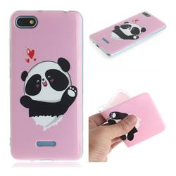 Heart Cat IMD Soft TPU Cell Phone Back Cover for Mi Xiaomi Redmi 6A