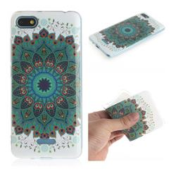 Peacock Mandala IMD Soft TPU Cell Phone Back Cover for Mi Xiaomi Redmi 6A