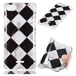 Black and White Matching Soft TPU Marble Pattern Phone Case for Mi Xiaomi Redmi 6A