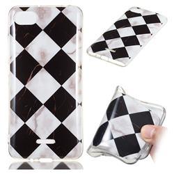 Black and White Matching Soft TPU Marble Pattern Phone Case for Mi Xiaomi Redmi 6A