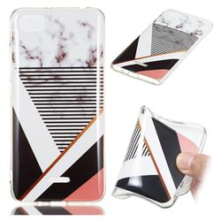 Pinstripe Soft TPU Marble Pattern Phone Case for Mi Xiaomi Redmi 6A