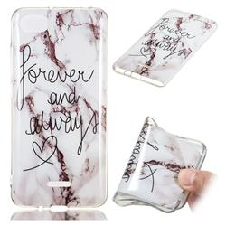 Forever Soft TPU Marble Pattern Phone Case for Mi Xiaomi Redmi 6A