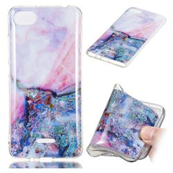 Purple Amber Soft TPU Marble Pattern Phone Case for Mi Xiaomi Redmi 6A