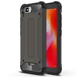King Kong Armor Premium Shockproof Dual Layer Rugged Hard Cover for Mi Xiaomi Redmi 6A - Bronze