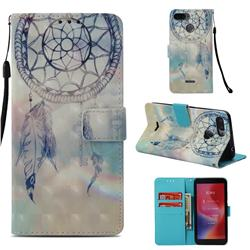 Fantasy Campanula 3D Painted Leather Wallet Case for Mi Xiaomi Redmi 6A