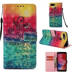 Colorful Dream Catcher 3D Painted Leather Wallet Case for Mi Xiaomi Redmi 6A
