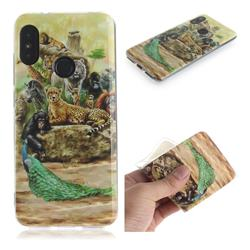 Beast Zoo IMD Soft TPU Cell Phone Back Cover for Xiaomi Mi A2 Lite (Redmi 6 Pro)