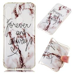 Forever Soft TPU Marble Pattern Phone Case for Xiaomi Mi A2 Lite (Redmi 6 Pro)