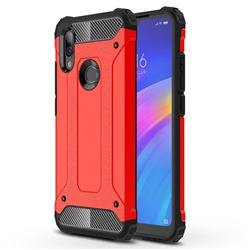 King Kong Armor Premium Shockproof Dual Layer Rugged Hard Cover for Mi Xiaomi Redmi 7 - Big Red