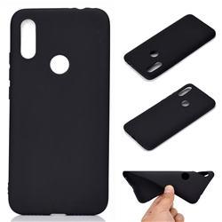 Candy Soft TPU Back Cover for Mi Xiaomi Redmi 7 - Black