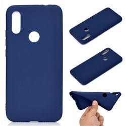 Candy Soft TPU Back Cover for Mi Xiaomi Redmi 7 - Blue