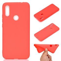 Candy Soft TPU Back Cover for Mi Xiaomi Redmi 7 - Red