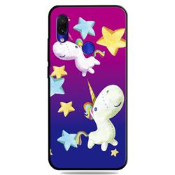 Pony 3D Embossed Relief Black TPU Cell Phone Back Cover for Mi Xiaomi Redmi 7