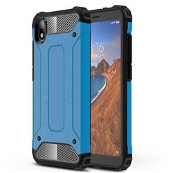 King Kong Armor Premium Shockproof Dual Layer Rugged Hard Cover for Mi Xiaomi Redmi 7A - Sky Blue