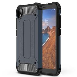 King Kong Armor Premium Shockproof Dual Layer Rugged Hard Cover for Mi Xiaomi Redmi 7A - Navy