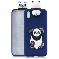 Giant Panda Soft 3D Climbing Doll Soft Case for Mi Xiaomi Redmi 7A