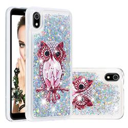 Seashell Owl Dynamic Liquid Glitter Quicksand Soft TPU Case for Mi Xiaomi Redmi 7A