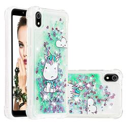 Tiny Unicorn Dynamic Liquid Glitter Sand Quicksand Star TPU Case for Mi Xiaomi Redmi 7A