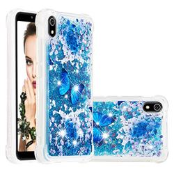 Flower Butterfly Dynamic Liquid Glitter Sand Quicksand Star TPU Case for Mi Xiaomi Redmi 7A