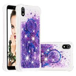 Retro Wind Chimes Dynamic Liquid Glitter Sand Quicksand Star TPU Case for Mi Xiaomi Redmi 7A