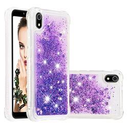 Dynamic Liquid Glitter Sand Quicksand Star TPU Case for Mi Xiaomi Redmi 7A - Purple
