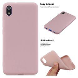 Soft Matte Silicone Phone Cover for Mi Xiaomi Redmi 7A - Lotus Color