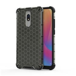 Honeycomb TPU + PC Hybrid Armor Shockproof Case Cover for Mi Xiaomi Redmi 8 - Gray