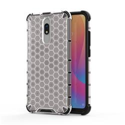 Honeycomb TPU + PC Hybrid Armor Shockproof Case Cover for Mi Xiaomi Redmi 8 - Transparent