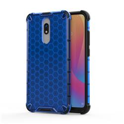 Honeycomb TPU + PC Hybrid Armor Shockproof Case Cover for Mi Xiaomi Redmi 8 - Blue