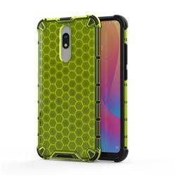 Honeycomb TPU + PC Hybrid Armor Shockproof Case Cover for Mi Xiaomi Redmi 8 - Green