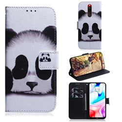 Sleeping Panda PU Leather Wallet Case for Mi Xiaomi Redmi 8