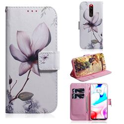 Magnolia Flower PU Leather Wallet Case for Mi Xiaomi Redmi 8