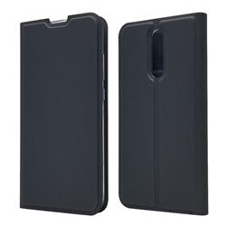 Ultra Slim Card Magnetic Automatic Suction Leather Wallet Case for Mi Xiaomi Redmi 8 - Star Grey