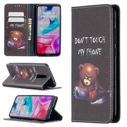 Chainsaw Bear Slim Magnetic Attraction Wallet Flip Cover for Mi Xiaomi Redmi 8