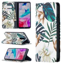 Flower Leaf Slim Magnetic Attraction Wallet Flip Cover for Mi Xiaomi Redmi 8