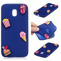 I Love Hamburger Soft 3D Silicone Case for Mi Xiaomi Redmi 8A