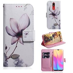 Magnolia Flower PU Leather Wallet Case for Mi Xiaomi Redmi 8A