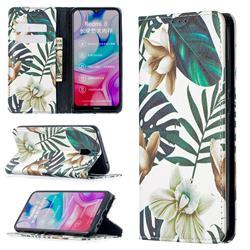 Flower Leaf Slim Magnetic Attraction Wallet Flip Cover for Mi Xiaomi Redmi 8A