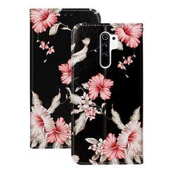Azalea Flower PU Leather Wallet Case for Xiaomi Redmi 9