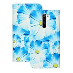 Orchid Flower PU Leather Wallet Case for Xiaomi Redmi 9