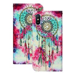 Butterfly Chimes PU Leather Wallet Case for Xiaomi Redmi 9A