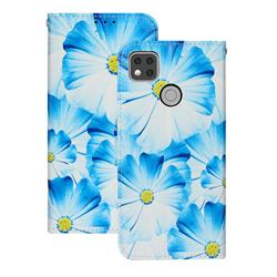 Orchid Flower PU Leather Wallet Case for Xiaomi Redmi 9C