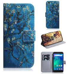 Apricot Tree PU Leather Wallet Case for Mi Xiaomi Redmi Go
